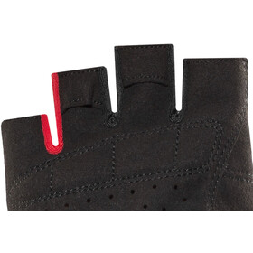Cube Natural Fit Kurzfinger Handschuhe grey'n'red